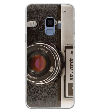 Vintage Camera Back Cover for Samsung Galaxy S9-Image3
