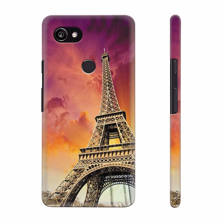 new styles 2c7bb 606c3 Visiting The Monuments Back Cover for Google Pixel 2 XL (6 Inch Screen)
