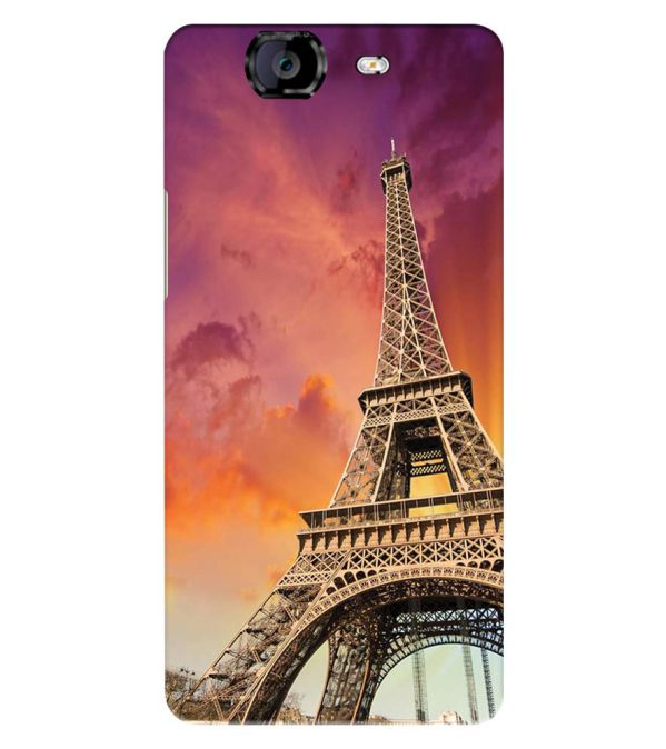 Visiting The Monuments Back Cover for Micromax A350 Canvas Knight