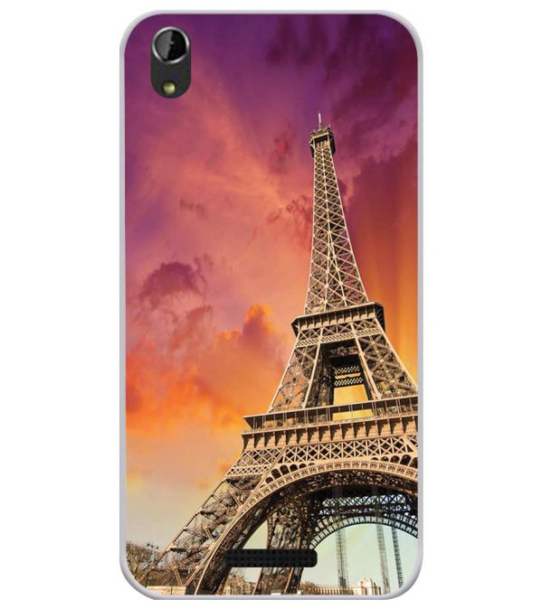 Visiting The Monuments Soft Silicone Back Cover for Lava Iris Atom X1