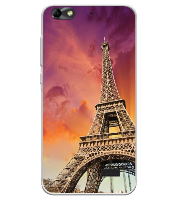 Visiting The Monuments Soft Silicone Back Cover for Huawei Honor Bee 4G