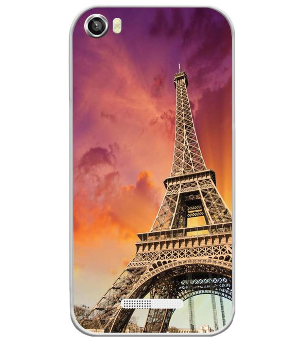 Visiting The Monuments Soft Silicone Back Cover for Lava Iris X8