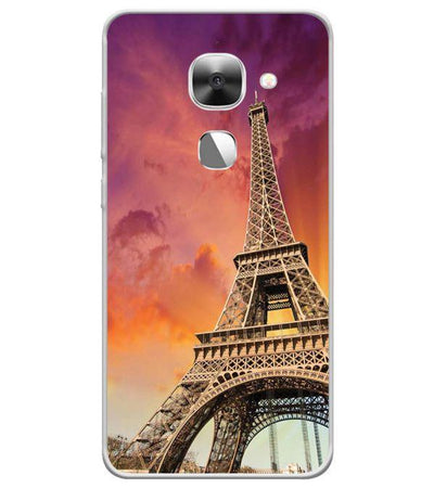 Visiting The Monuments Back Cover for LeEco Le 2s