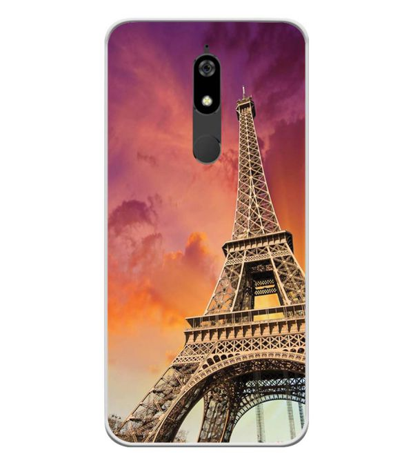 Visiting The Monuments Soft Silicone Back Cover for Micromax Canvas Infinity Pro