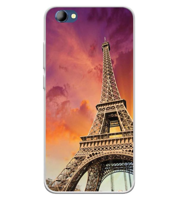 Visiting The Monuments Soft Silicone Back Cover for Panasonic Eluga I4