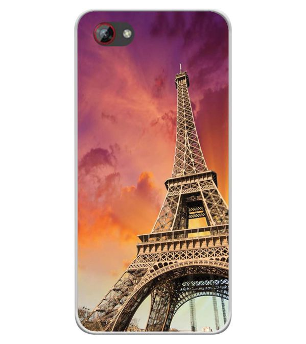 Visiting The Monuments Soft Silicone Back Cover for Spice F301
