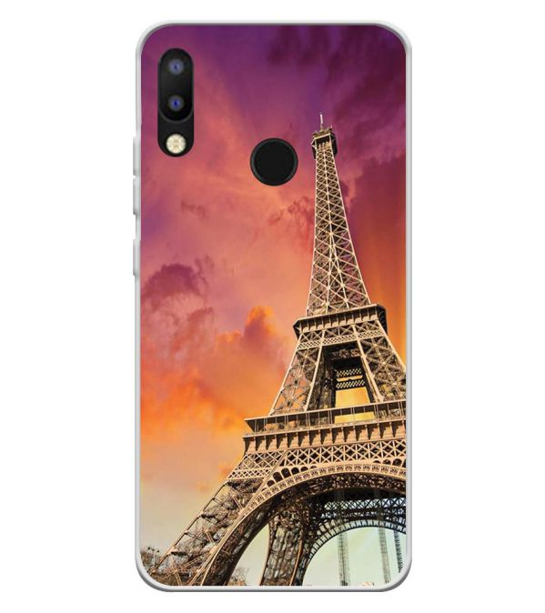 Visiting The Monuments Soft Silicone Back Cover for Tecno Camon iAir 2+
