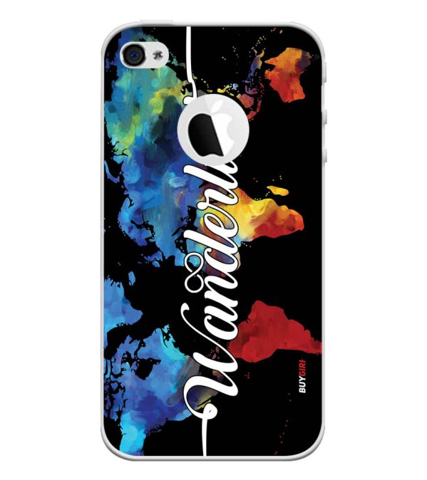 Wanderlust Back Cover for Apple iPhone 4 and iPhone 4S (Logo Cut)-Image3