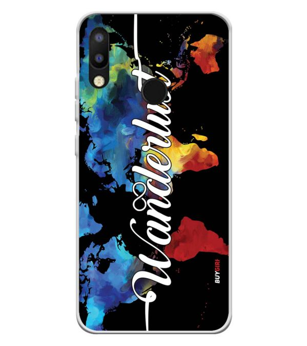 Wanderlust Soft Silicone Back Cover for Tecno Camon iAir 2+