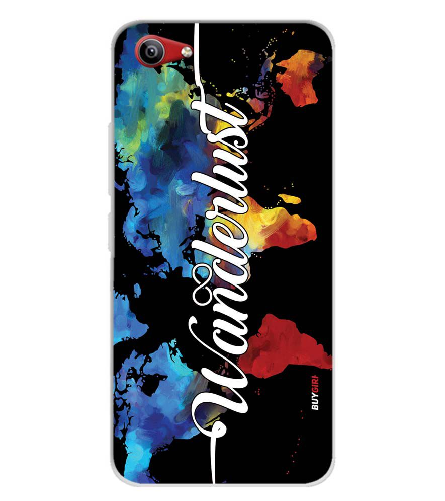 Wanderlust Soft Silicone Back Cover for Vivo Y81i
