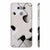 White Stylish Puzzle Back Cover for LG G6