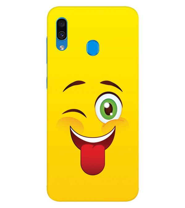 Winkey Smylie Back Cover for Samsung Galaxy A30