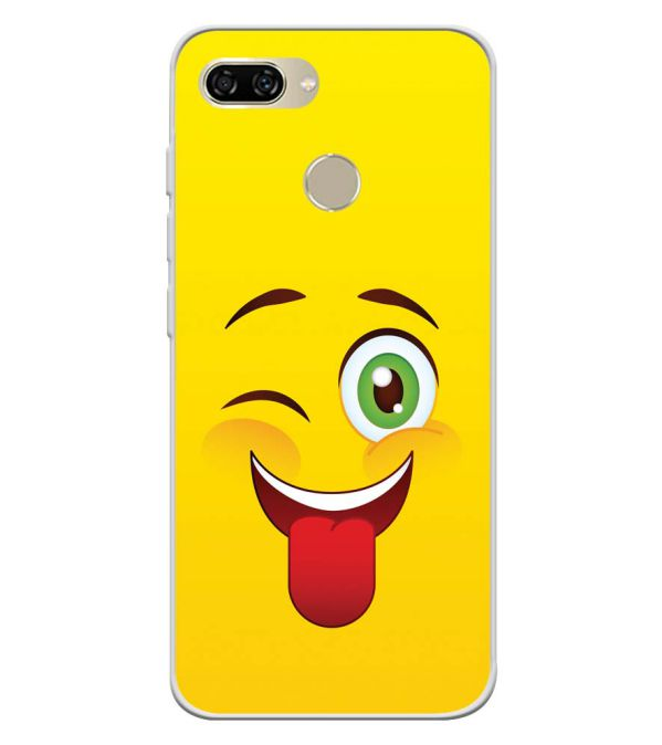 Winkey Smylie Soft Silicone Back Cover for Gionee S11 lite