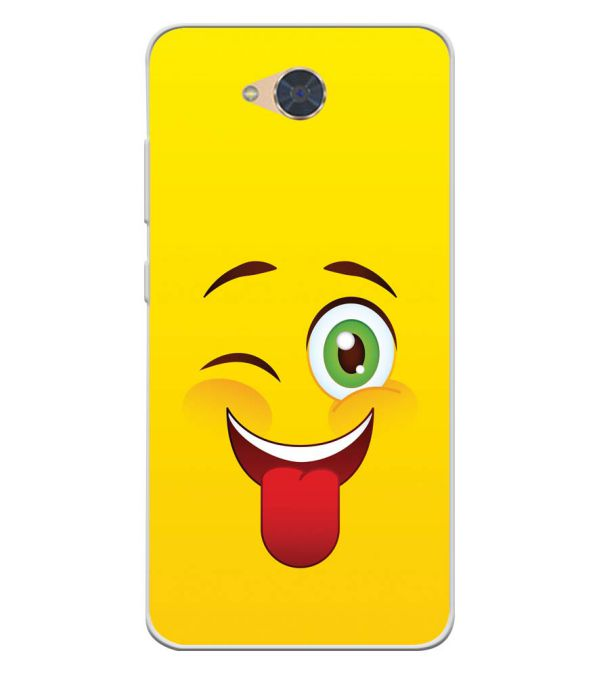 Winkey Smylie Soft Silicone Back Cover for Gionee S6Pro