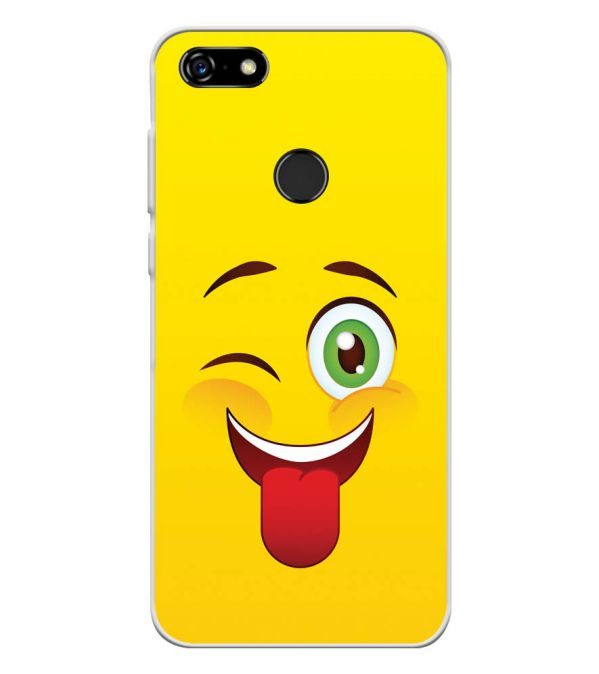 Winkey Smylie Soft Silicone Back Cover for Lenovo A5