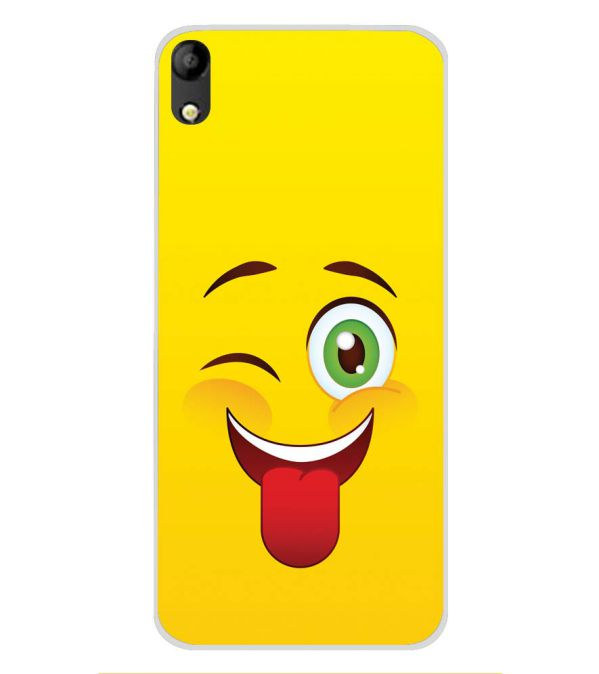 Winkey Smylie Soft Silicone Back Cover for Mobistar C1