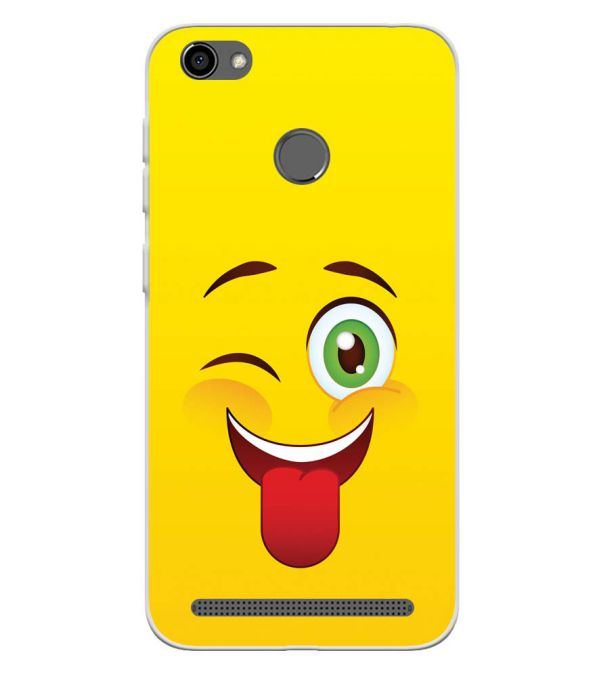 Winkey Smylie Soft Silicone Back Cover for Panasonic P85 NXT
