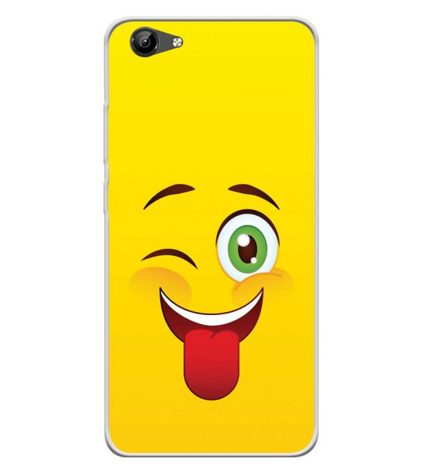 Winkey Smylie Soft Silicone Back Cover for Vivo Y71i