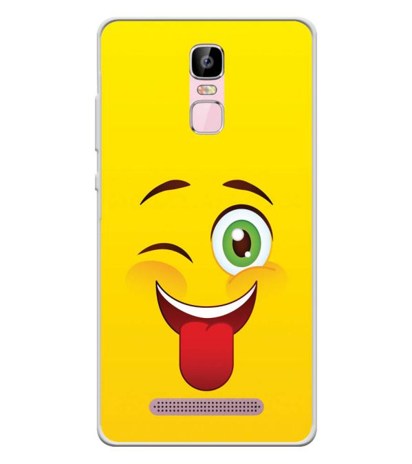 Winkey Smylie Soft Silicone Back Cover for Zen Admire Sense Plus