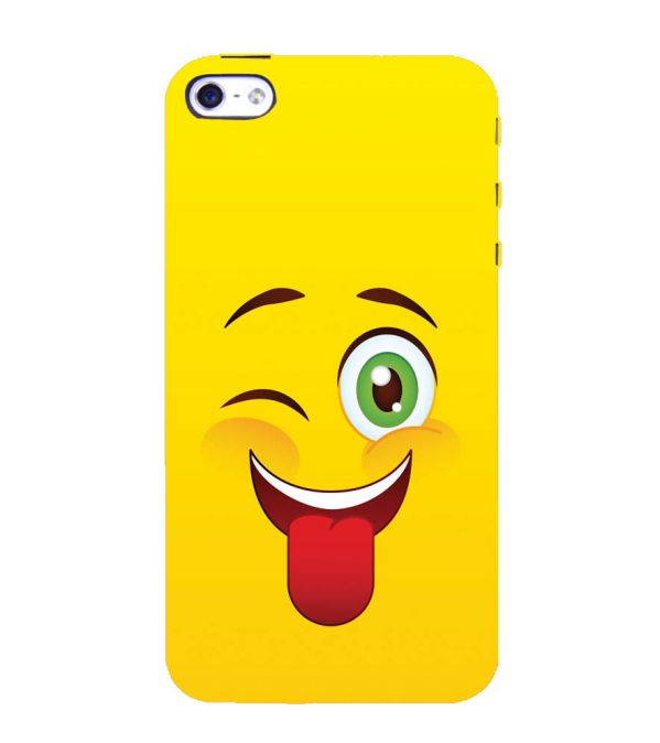 Winkey Smylie Back Cover for Apple iPhone 4 : 4S