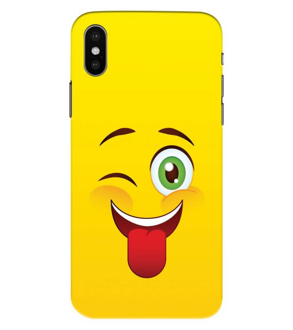 Winkey Smylie Back Cover for Apple iPhone XS Max (Big 6.5 Inch Screen)