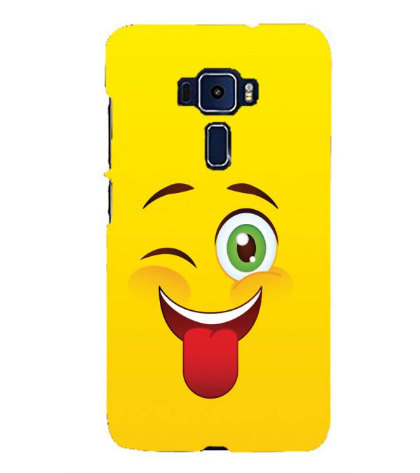 Winkey Smylie Back Cover for Asus Zenfone 3 ZE552KL