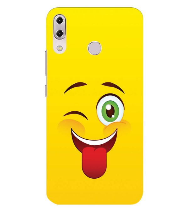Winkey Smylie Back Cover for Asus Zenfone 5z ZS620KL