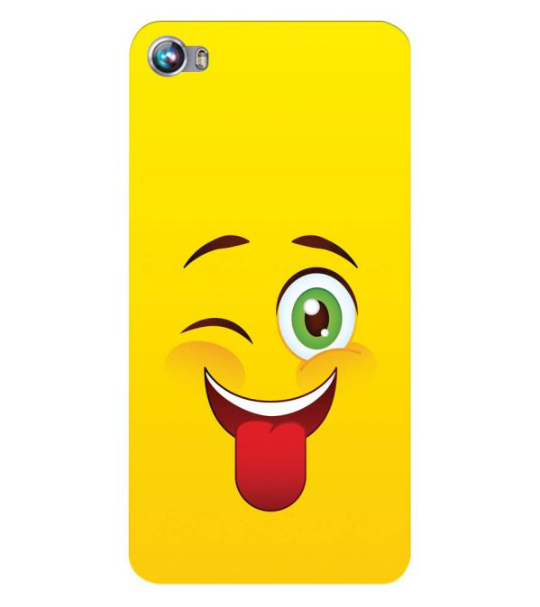 Winkey Smylie Back Cover for Micromax Canvas Fire 4 A107