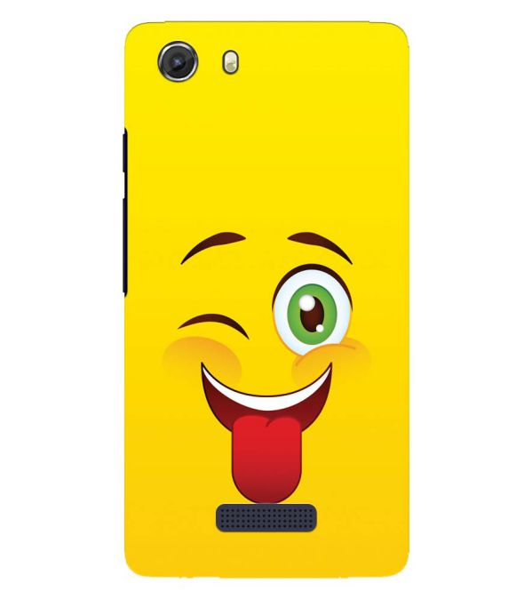 Winkey Smylie Back Cover for Micromax Q372 Unite 3