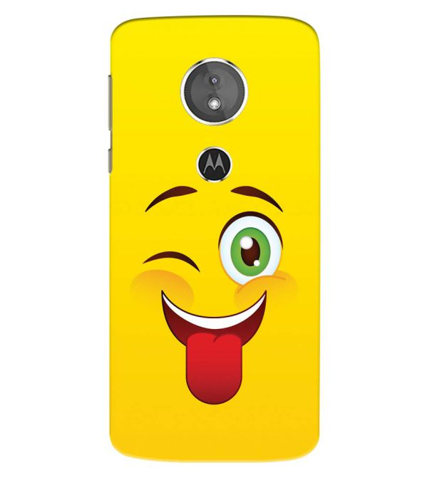 Winkey Smylie Back Cover for Motorola Moto E5 Play