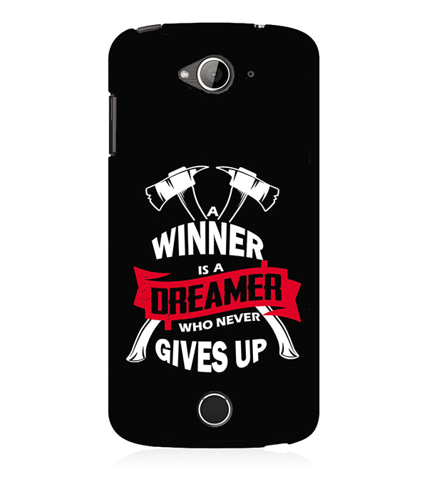 Winner is Dreamer Back Cover for Acer Liquid Zade 530