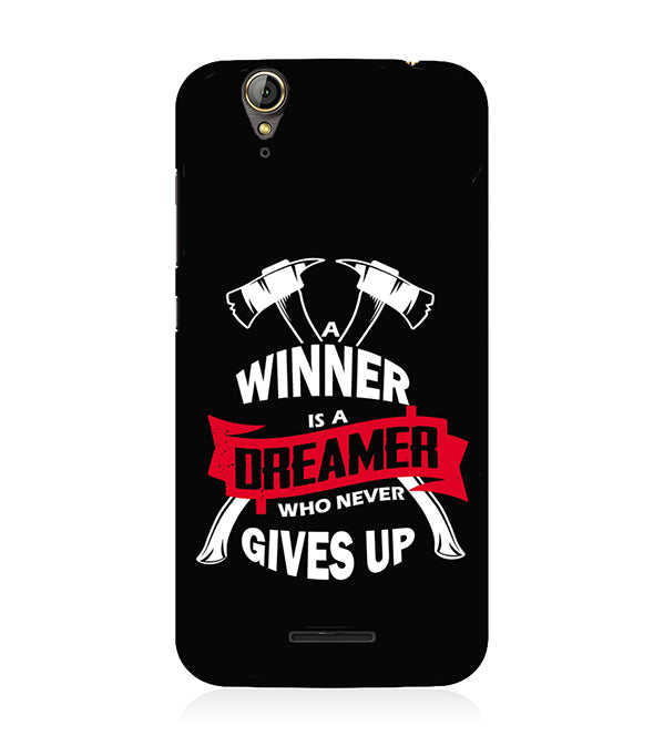 Winner is Dreamer Back Cover for Acer Liquid Zade 630