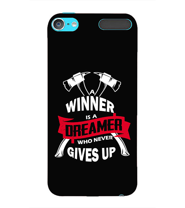 Winner is Dreamer Back Cover for Apple iPod Touch 6
