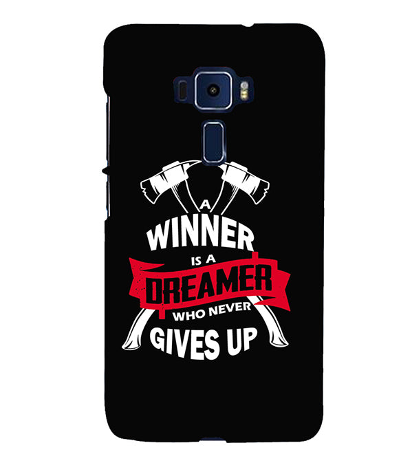 Winner is Dreamer Back Cover for Asus Zenfone 3 Deluxe ZS570KL