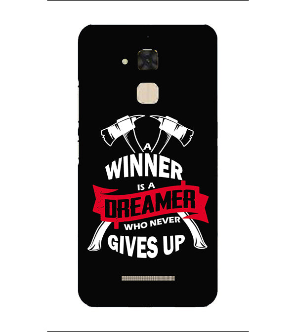 Winner is Dreamer Back Cover for Asus Zenfone 3 Max ZC520TL