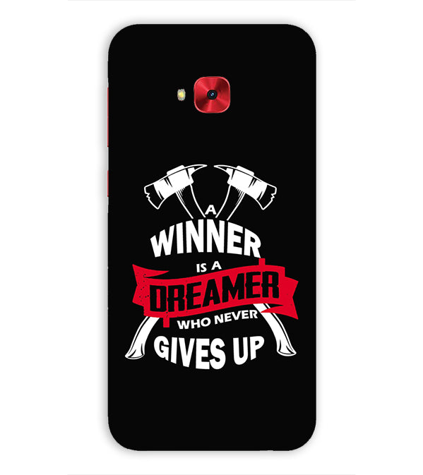 Winner is Dreamer Back Cover for Asus Zenfone 4 Selfie Pro ZD552KL