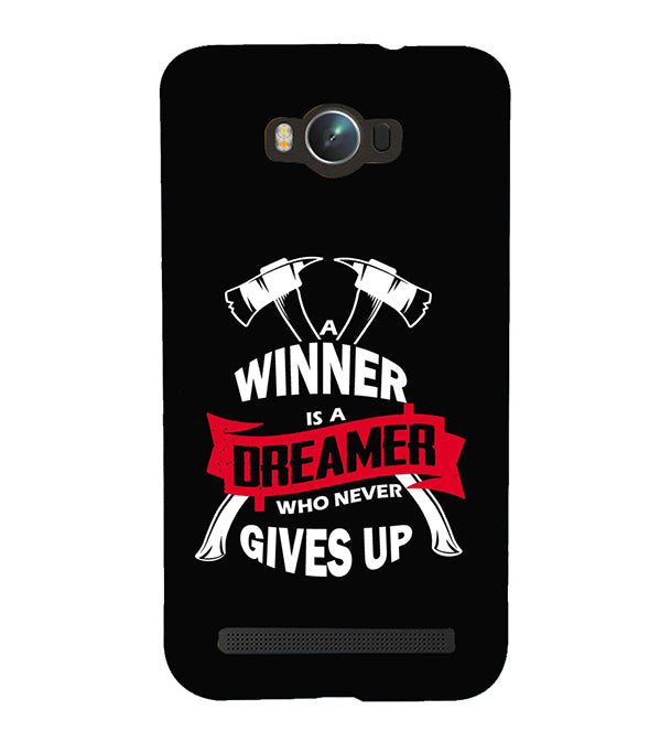 Winner is Dreamer Back Cover for Asus Zenfone Max ZC550KL