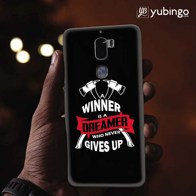 Winner is Dreamer Back Cover for Coolpad Cool 1-Image2