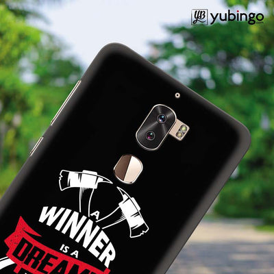 Winner is Dreamer Back Cover for Coolpad Cool 1-Image4