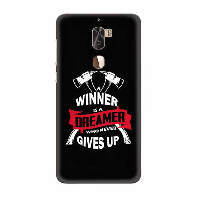 Winner is Dreamer Back Cover for Coolpad Cool 1