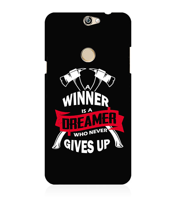 Winner is Dreamer Back Cover for Coolpad Max
