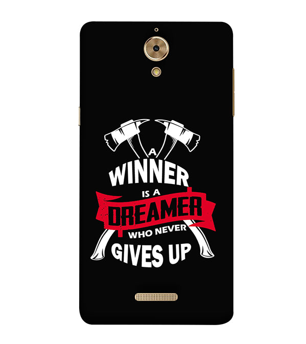 Winner is Dreamer Back Cover for Coolpad Mega 2.5D