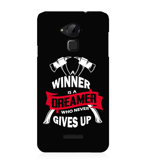Winner is Dreamer Back Cover for Coolpad Note 3