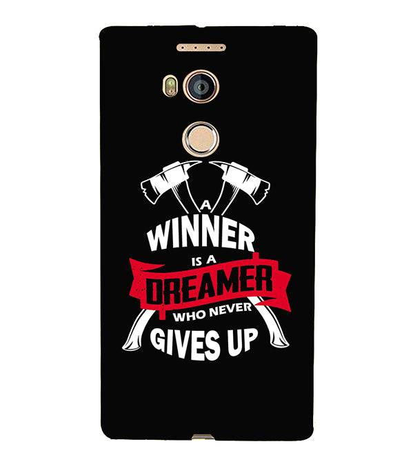 Winner is Dreamer Back Cover for Gionee Elife E8