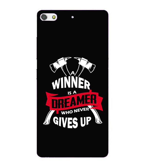 Winner is Dreamer Back Cover for Gionee Elife S7