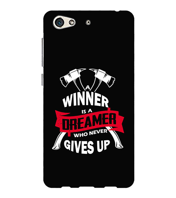 Winner is Dreamer Back Cover for Gionee S10
