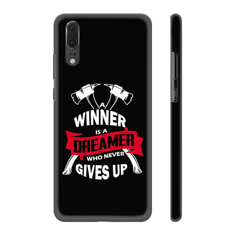 Winner is Dreamer Back Cover for Huawei P20