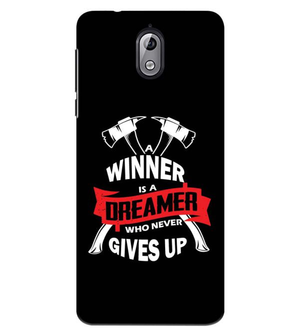 Winner is Dreamer Back Cover for Nokia 3.1 (2018)