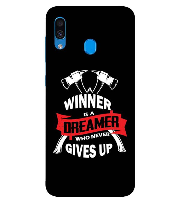 Winner is Dreamer Back Cover for Samsung Galaxy A30