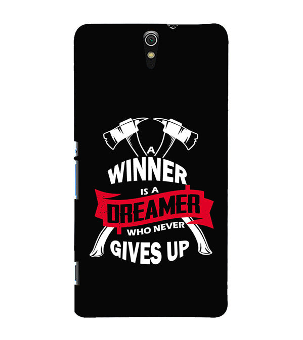 Winner is Dreamer Back Cover for Sony Xperia C5